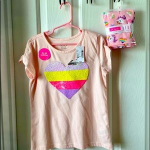 Children's Place Girls Two Piece Outfit